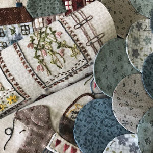 Seaside Town Block of the Month by Lynette Anderson PLEASE CONTACT US