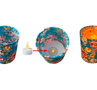Tea Light Lantern Making Kit (Makes 3)