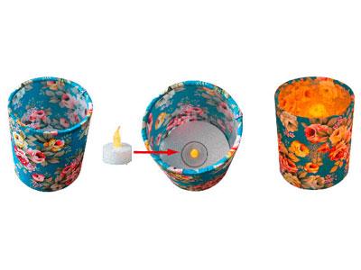 Tea Light Lantern Making Kit (Makes 3)