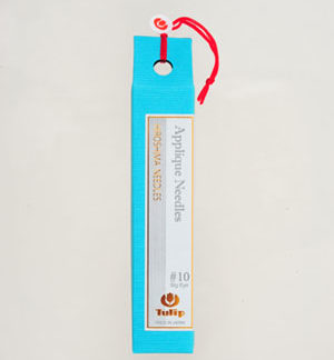 Tulip Applique Big Eye Needles No10