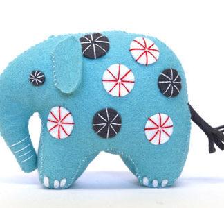 Felt Elephant Kit