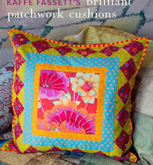 Kaffe Fassett's Brilliant Little Patchwork Cushions & Pillows