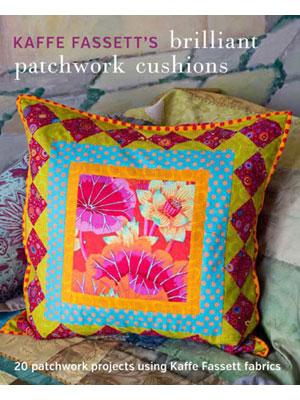 Kaffe Fassett's Brilliant Little Patchwork Cushions & Pillows