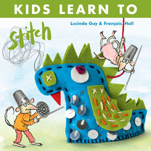 Kids Learn to Stitch book