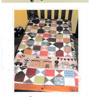 Big Top Circus quilt pattern