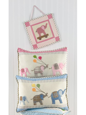 Elephant Walk Pillow