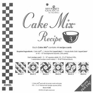 Moda Cake Mix Recipe 3