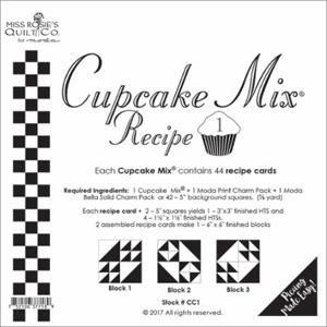 Moda Cupcake Mix Recipe 1