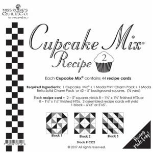 Moda Cupcake Mix Recipe Mix 2