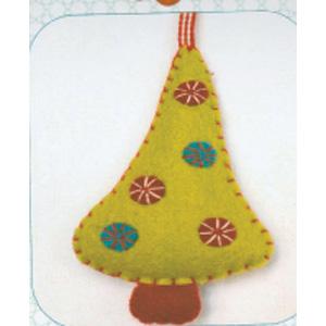 Mini Christmas Tree Felt Kit