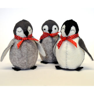 Baby Penguins Felt Kit - Makes 3