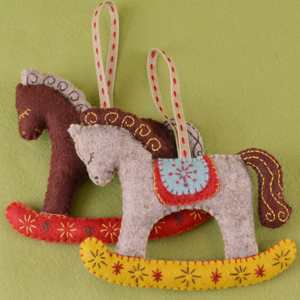 Felt Rocking Horse Kit - Makes 2