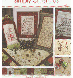 Simply Christmas No 5 by Gail Pan