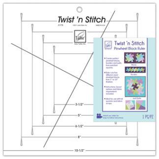 Twist N Stitch Ruler by June Taylor