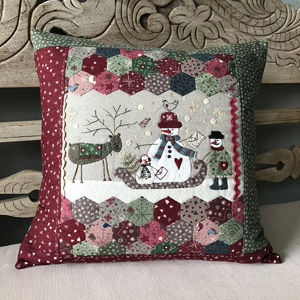 Frosty the Postman Pillow pattern