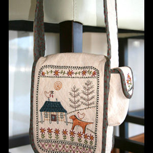 Daisy Cottage Bag pattern