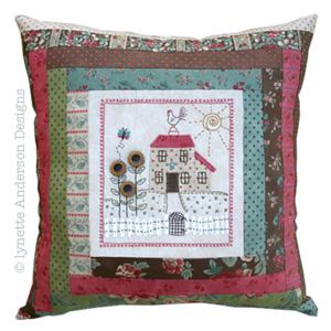 Nora's Garden Pillow pattern