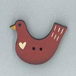 Erin's Bird Button