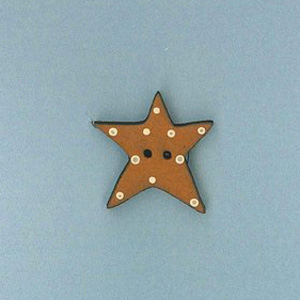 Christmas Star button