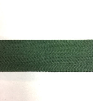50m Dark Green Bunting Tape - 30mm wide