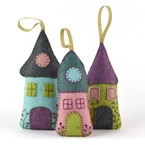 Bright Lavender Houses Kit