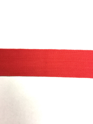 50m Bright Red Bunting Tape - 30mm wide