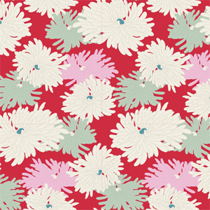 Tilda Cottage - Mini Red Fabric