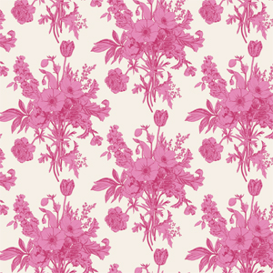 Tilda Cottage - Botanical Plum Fabric