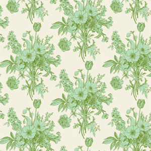 Tilda Cottage - Botanical Sage Fabric