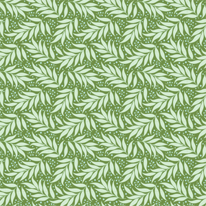Tilda Cottage - Berry Leaf Sage Fabric