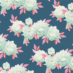 Tilda Cottage - Minerva Blue Fabric