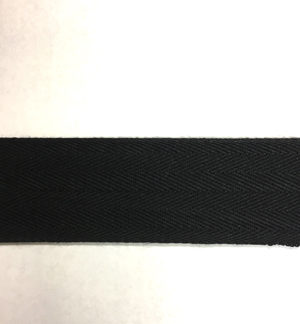 Black Bunting Tape - 30mm wide
