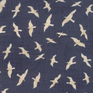 Ahoy Me Hearties - Gulls on Ocean fabric