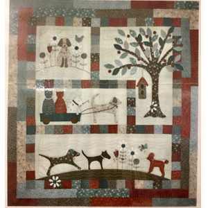 A Dogs Life block of the month Fabric Pack