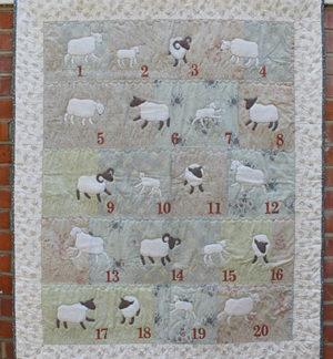 Counting Sheep pattern by Janet Clare