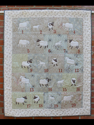 Counting Sheep Pattern By Janet Clare Coast Country