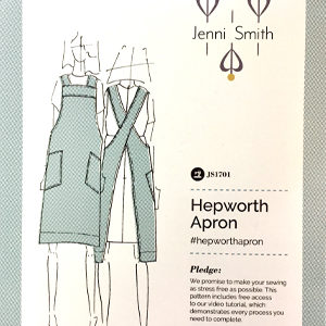 Sashiko Pocket Design for Hepworth Apron