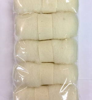 Wool Tops - 5 pack of White