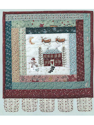 Little Winter Wonderland Fabric & Button Pack