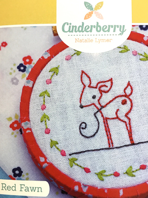 Red Fawn Pattern by Cinderberry Stitches
