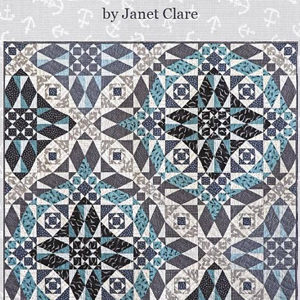 Sailing the Blue pattern by Janet Clare