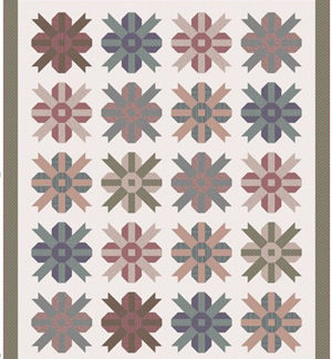 Summer Blossom Quilt pattern by Lynette Anderson