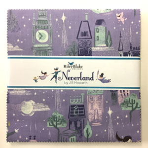 "Neverland Layer Cake 10"" Squares"