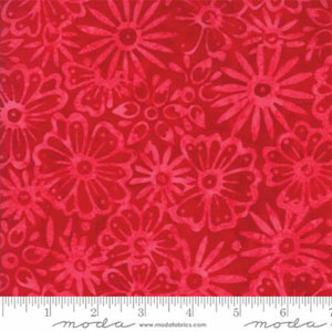 Moda Bonfire Sunset Batik Fabric - Pink
