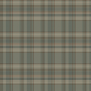 Porch Plaid Folk Grey Yarn Dye Fabric