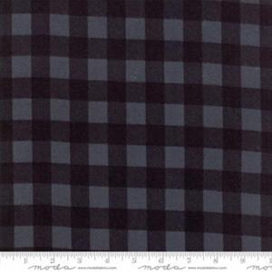 Wool & Needle Flannel - Cornflower Blue Big Check Fabric