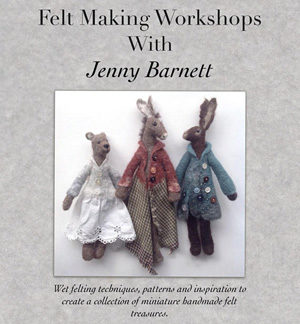 Felt Making by Jenny Barnett