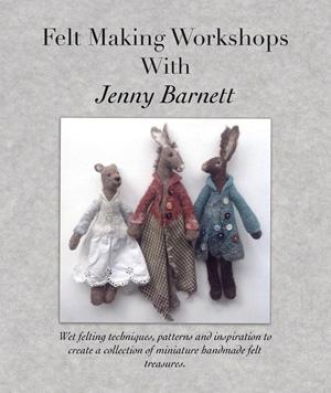 Felt Making by Jenny Barnett