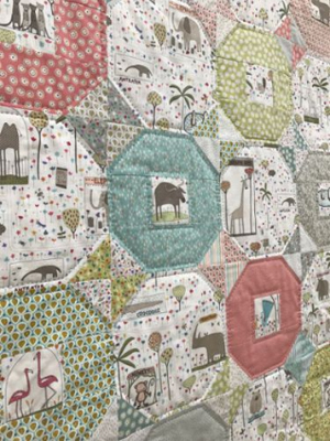 Wild Things Quilt by Hatched & Patched