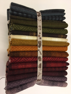 Wool & Needle Flannel Fat 1/4 pack